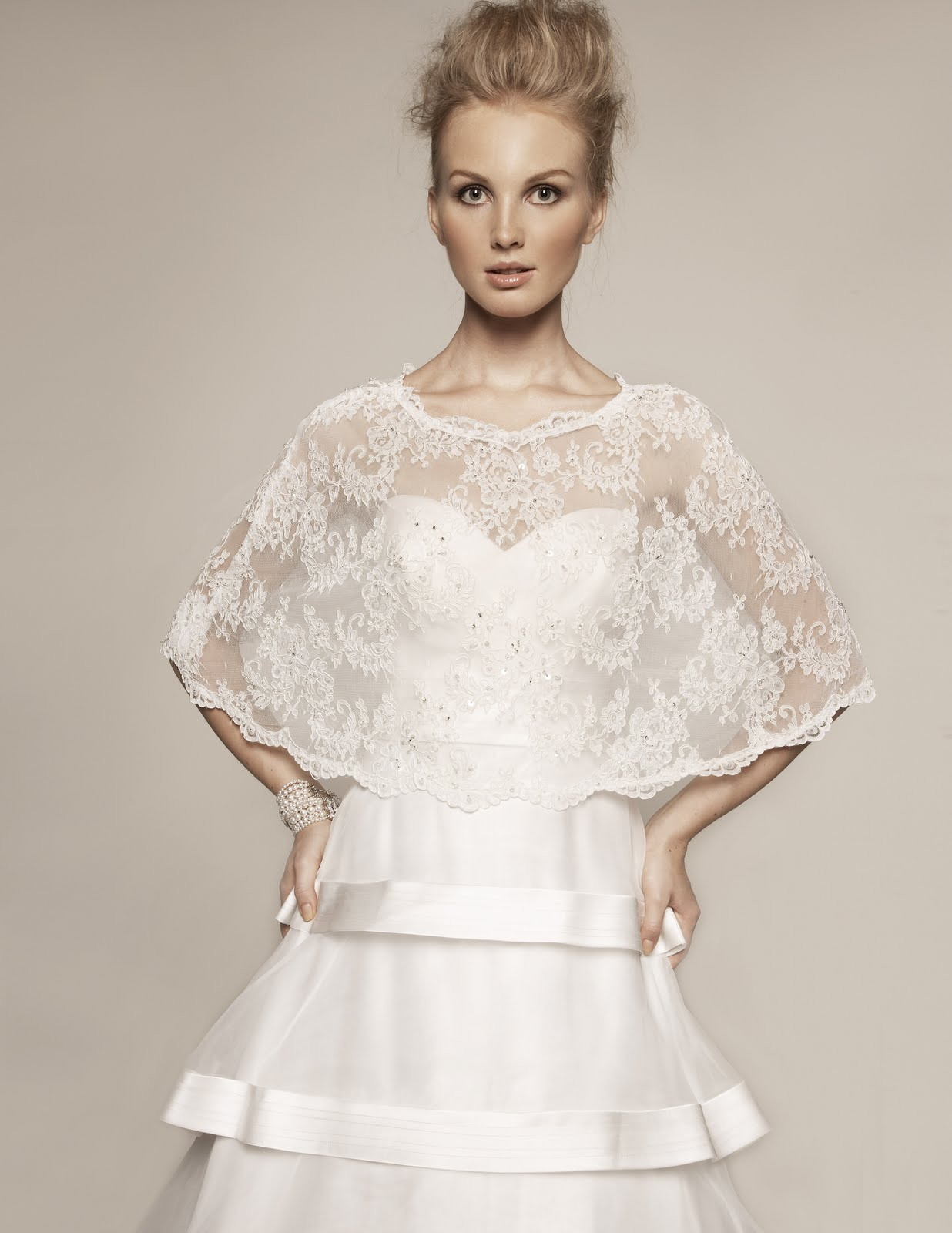 Destination Weddings Bridal Designer Offers New Options For The Modest Bride