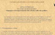 Nota dottrinale