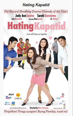 your favorite movies hating kapatid 2010 tagalog movie