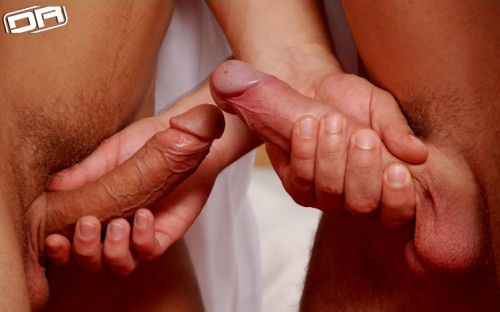 Gay mutual handjob videos