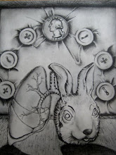 self portrait - lung/rabbit