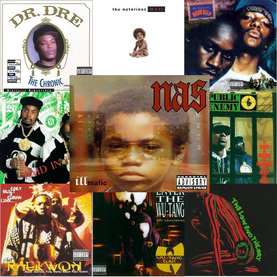 The rap industry top 10 rap albums of all time
