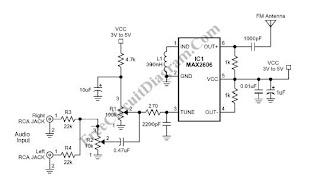 kliping ku small single chip fm transmitter rh kliping aries blogspot com Digital FM Transmitter Circuit Integrated Circuit FM Transmitter