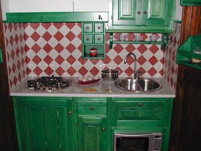 Cucina brunella la cucina a scomparsa: brunella ever green