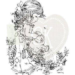 sarah kay coloring pages - joan 39 s gardens sarah kay stamp