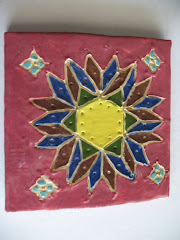 Finished Islamic Tile