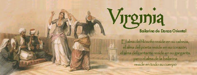 Virginia. Bailarina de Danza Oriental