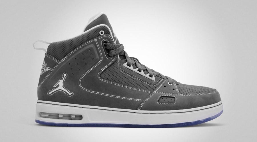 Mens Air Jordan Street Classic White Blue shoes