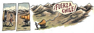 Macanudo / Liniers / Fuerza Chile