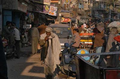 Delhi, calle