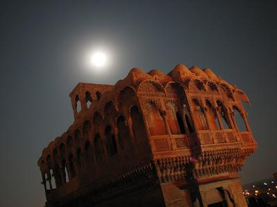Jaisalmer, luna llena
