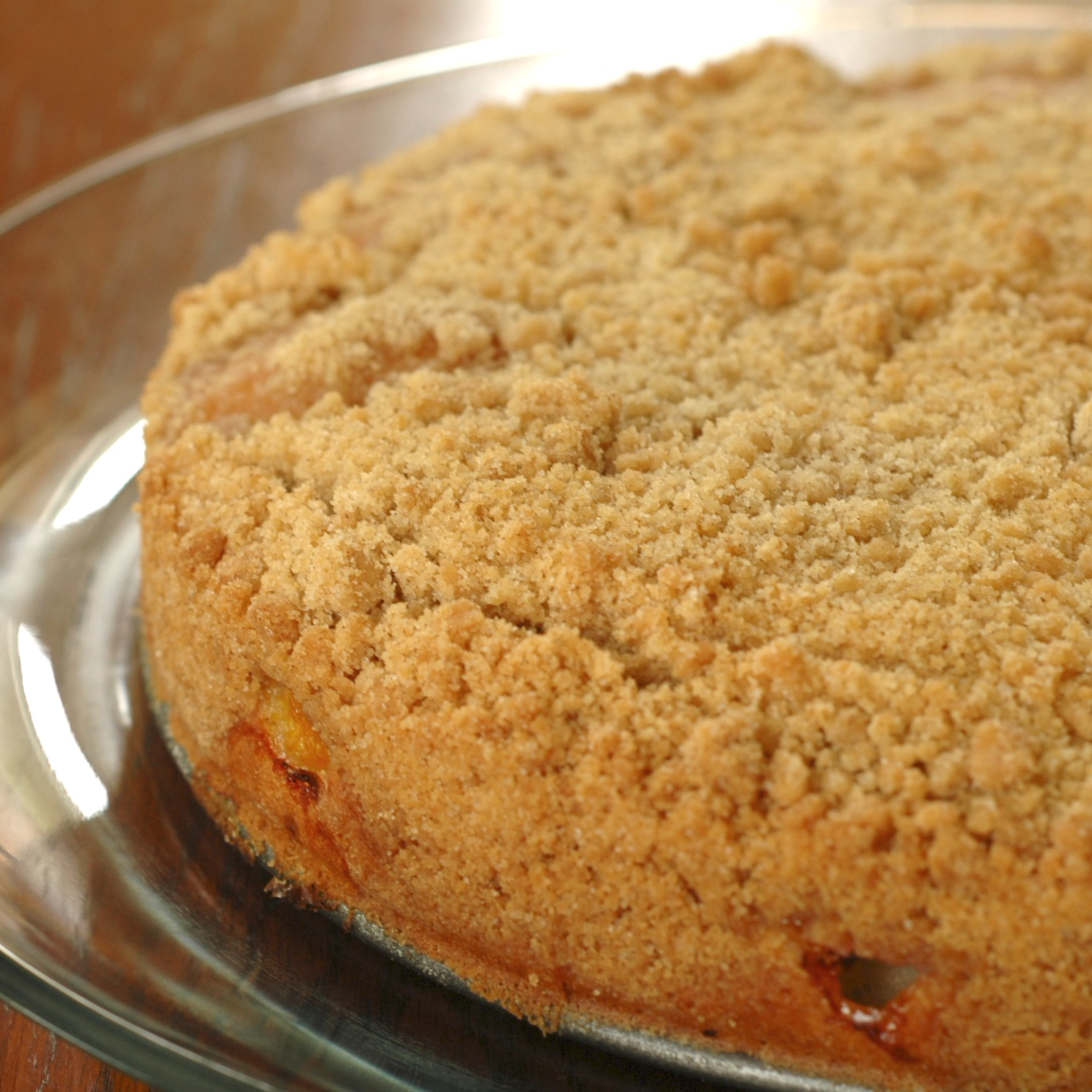 Peach Coffee Cake Too Many Peaches