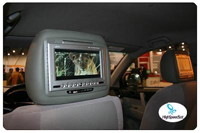 lcd in the van