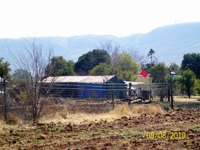 Ubogie domostwa białych w RPA