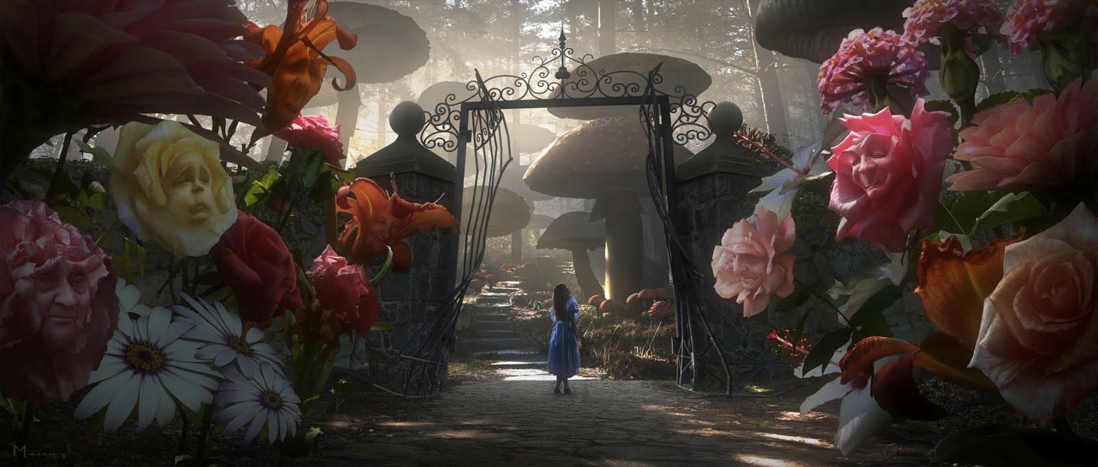 Alicia en el Pais de las Maravillas: El Jardin de las Flores