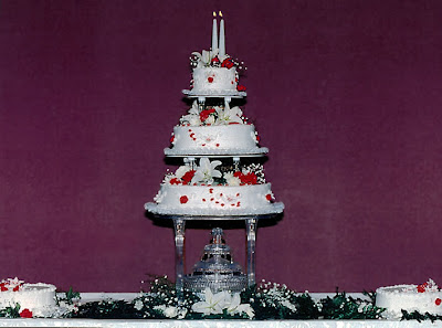 wedding cakes with fountains ideas