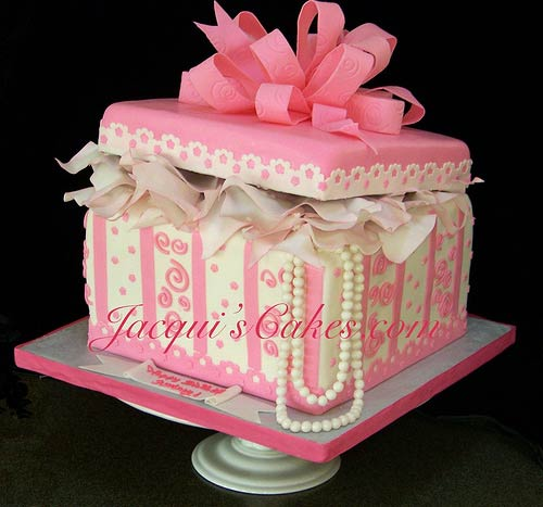 gift box cake designs. Wedding Cakes Boxes With