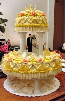 rusia wedding cake