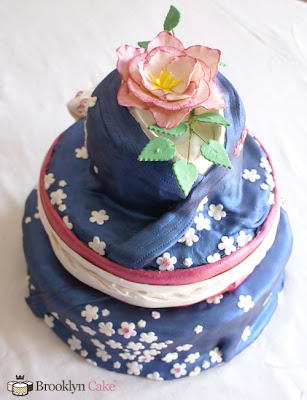 wedding cake japanese clothes