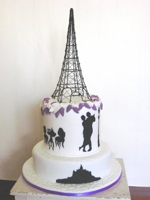 semple wedding cake
