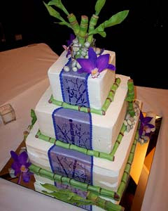 variant wedding cake