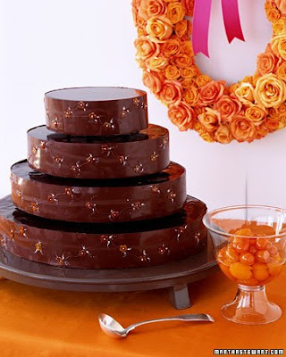 Chocolate Wedding Cakes picture