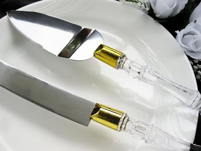 cute wedding cake knife