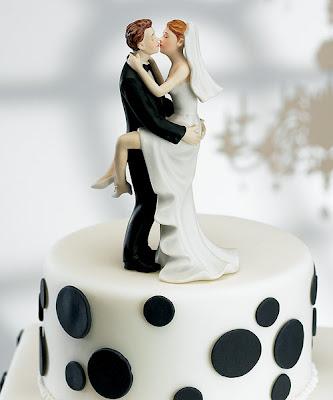 Bride On Wedding Cakes