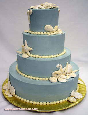 pearls wedding cake picture