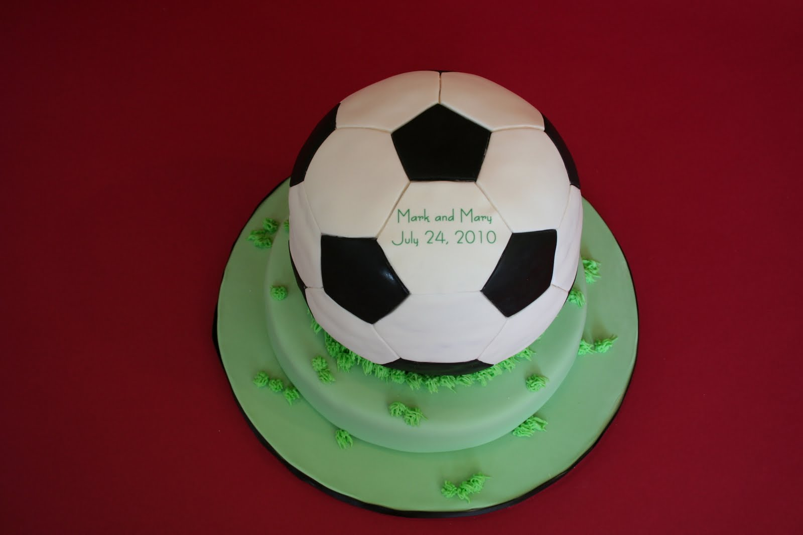 Football Wedding Cake