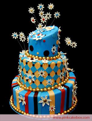 las vegas wedding cakes flower on top