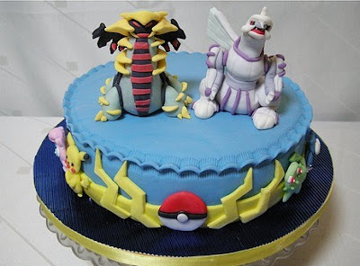 pokemon serie cake
