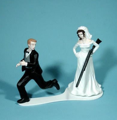 Wedding Cake Toppers Humorous Sport Topper
