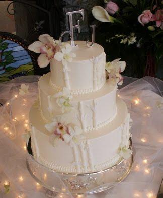wedding cakes 2010