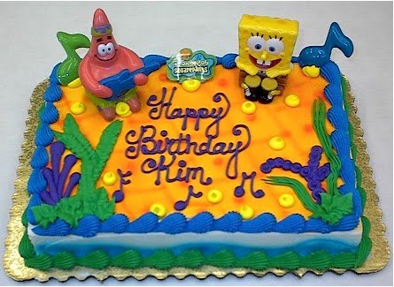 Spongebob And Patrick Birthday Cakes:Wedding