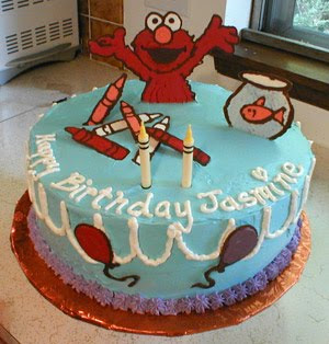Elmo Birthday Cakes pictures