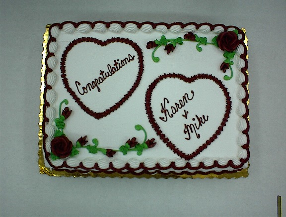 Bridal Shower Sheet Cake Decorating Ideas Wedding Cakes Decorated With Flowers And Decor Love
