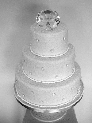 Diamond Wedding Cakes