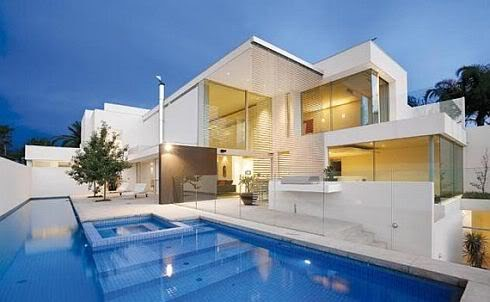 Traumhaus mit pool  Traumhäuser & Luxus-Immobilien: Modernes Luxus-Traumhaus mit Pool