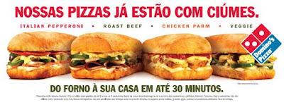 Publicidade Domino´s Pizza