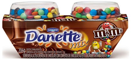 Danette Mix m&m