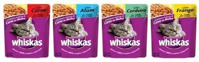 Whiskas sachê muda a embalagem