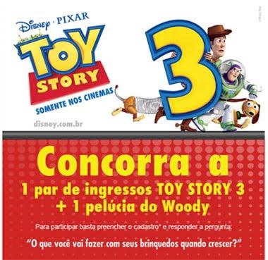 Long Jump, em concursos, dá ingressos para Toy Story 3
