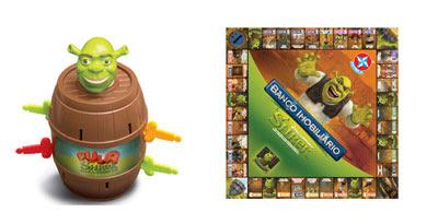 Estrela lança produtos com personagens de Shrek