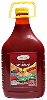 Tambaú renova embalagem do Catchup