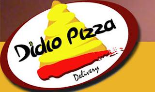 Entregadores da Dídio Pizza preparados para vende