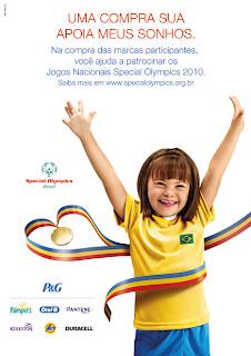 Atletas especiais participam dos Jogos Nacionais Special Olympics 2010