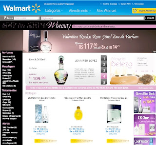 Perfumaria é a nova categoria do Walmart.com
