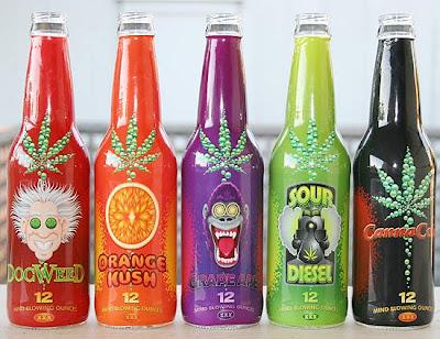 Refrigerante de maconha será vendido nos EUA no próximo mês