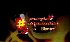 Blowtex com ação promocional inusitada